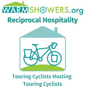 Warmshowers Reciprocal Hospitality