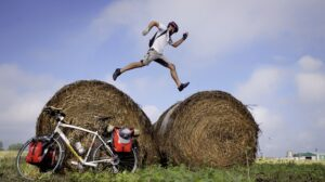The Road Between Us - Jumping Haybales